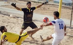 مروری بر هفته چهاردهم لیگ برتر فوتبال ساحلی کشور
