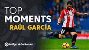 برترین لحظات رائول گارسیا در لالیگا 19-2018