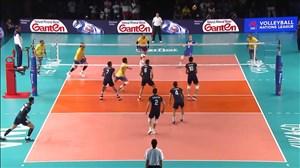 ست دوم والیبال برزیل - ایران (لیگ ملتهای والیبال)