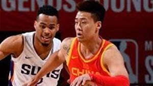 خلاصه بسکتبال فینیکس سانز - چین