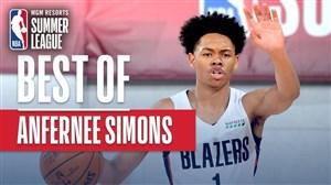 برترین حرکات سایمونس در لیگ تابستانه NBA