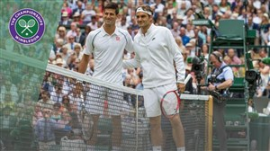 تقابل های دیدنی جوکوویچ و فدرر در تنیس ویمبلدون
