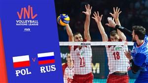 خلاصه والیبال روسیه 3 - لهستان 1 (لیگملتهای والیبال)