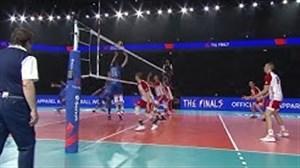 3 حرکت برتر والیبال شب گذشته روسیه - لهستان