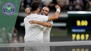 خلاصه فینال رقابتهای تنیس دو نفره ویمبلدون 2019