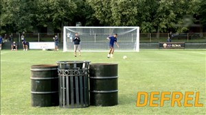 چالش های جالب ستارگان فوتبال بخش اول
