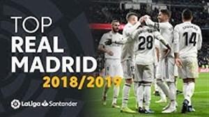 گلهای برتر رئال مادرید از نگاه لالیگا فصل 19-2018