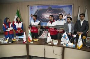 اهدای پاروی قهرمانی توسط عادل مجللی به کمپین ستاره ها ورزش سه