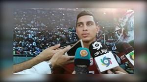 صحبت های محمد نادری پس از دعوت به تیم ملی