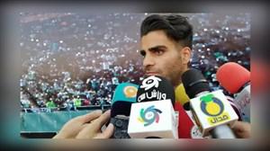 صحبت های محمد حسین مرادمند در مورد تیم ملی