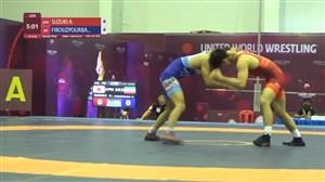 مسابقه کشتی فیروزپور - سوزوکی (قهرمانی آسیا)