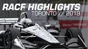 گزیده ای از مسابقه اتومبیل رانی هوندا در تورنتو