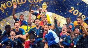 یک سال پیش؛ قهرمانی فرانسه در جام جهانی 2018
