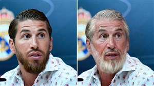چالش جالب مقایسه جوانی و پیری بازیکنان فوتبال