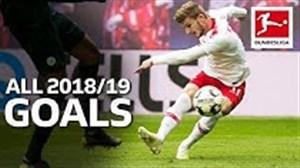 تمام گلهای تیمو ورنر در فصل 19-2018