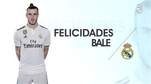 تبریک باشگاه رئالمادرید به مناسبت تولد گرت بیل