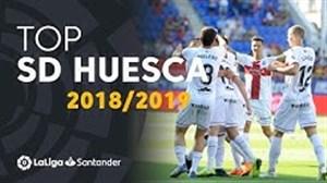 برترین گلهای تیم اوئسکا در لالیگا 19-2018