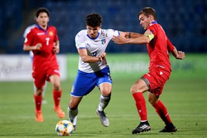 خلاصه بازی ایتالیا 4 - ارمنستان 0 (یورو زیر 19 سال)