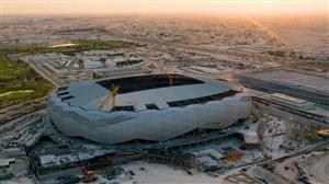 ورزشگاه استادمدینه قطر در حال ساخت برای جام جهانی