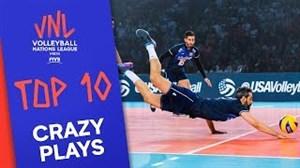 10 حرکت برتر مرحله نهایی لیگ ملتهای والیبال
