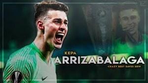 برترین لحظات کپا با پیراهن چلسی فصل 19-2018