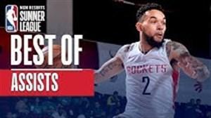 برترین پاس گلهای لیگ تابستانه بسکتبال NBA