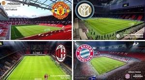 استادیوم تیم های مطرح در بازی PES 2020