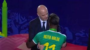 اهدای مدال نقره به سنگال(فینال جام ملتهای آفریقا)