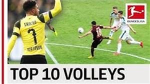 10 گل برتر والی بوندسلیگا در فصل 2018/19