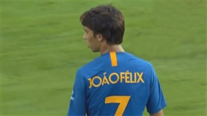 عملکرد ژائو فلیکس در اولین بازی برای اتلتیکو مادرید
