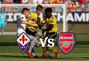 خلاصه بازی آرسنال 3 - فیورنتینا 0 (اینترنشنال کاپ)