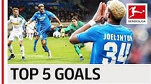 5 گل برتر جوئلینتون در بوندسلیگا 19-2018