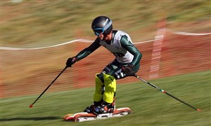 گزارشی از مسابقات اسکی روی چمن انتخابی تیم ملی بانوان