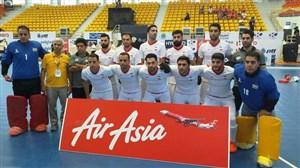 مردان هاکی سالنی ایران قهرمان آسیا شدند