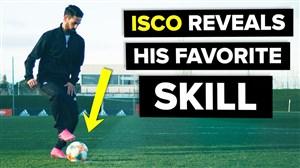انجام حرکات تکنیکی توسط ایسکو ستاره رئال مادرید