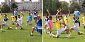 لحظاتی از تمرین امروز استقلال تهران (31-04-98)