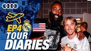 حاشیه های تور تابستانه رئال و دیدار با جیمز هاردن ستاره NBA