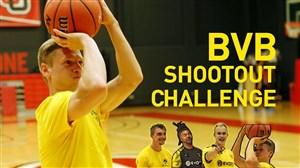 چالش بسکتبالی بازیکنان تیم دورتمند