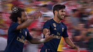 گل دوم رئال مادرید به آرسنال ( مارکو آسنسیو )