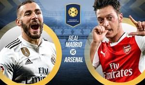 خلاصه بازی رئال مادرید 2 (3) - آرسنال 2 (2)