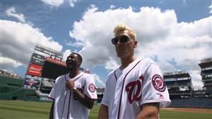 بیسبال بازی کردن بازیکنان آرسنال