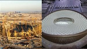استادیوم استادلوسیل در حال ساخت برای جامجهانی 2022