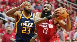 برترین لحظات هاردن در لیگ حرفهای بسکتبال NBA
