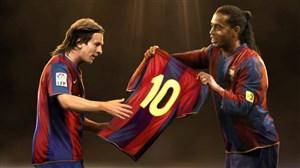درچنینروزی؛ اولینبازی مسیبرایبارسلونا با شماره 10