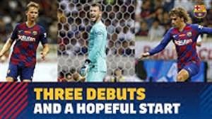 سه بازیکن جدید زیر نظر دوربین باشگاه بارسلونا