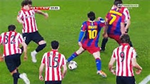 حرکتهای تکنیکی فراموش نشدنی لیونل مسی
