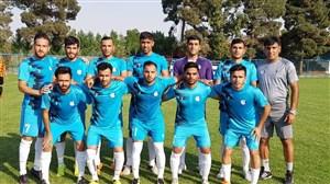 پیروزی تدارکاتی اس خوزستان مقابل سرخپوشان