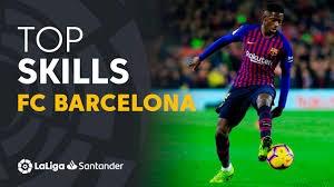 مهارتهای تماشایی بازیکنان بارسلونا در فصل 19-2018