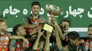 اهدای کاپ و جشن قهرمانی تیم سایپا در جام شهدا