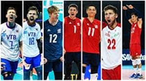 تیم منتخب لیگ والیبال ملت ها 2019